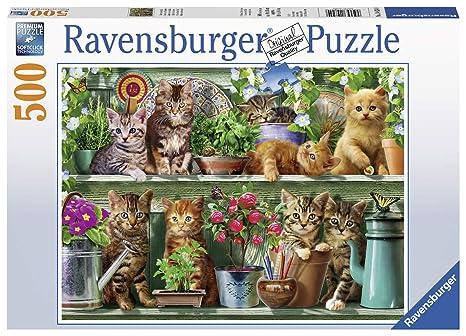 Ravensburger Puzzle para Adultos 14824 Ravensburger 14824 de Gatos en estantería de Adultos Puzzle