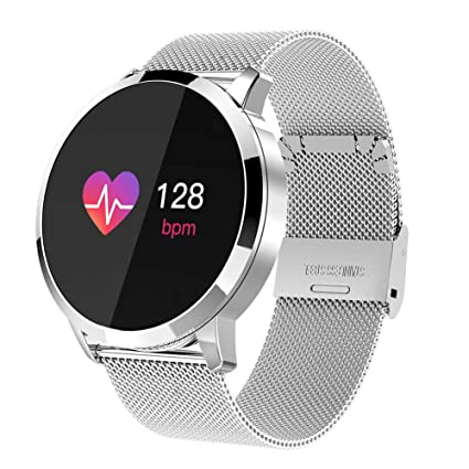 Smart watch Touch Q8, Long Standby Heart Rate Blood Pressure Blood Oxygen Calorie Anti-