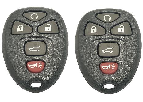 Amazon.com: Carcasa para llave de coche para GM GMC Yukon ...