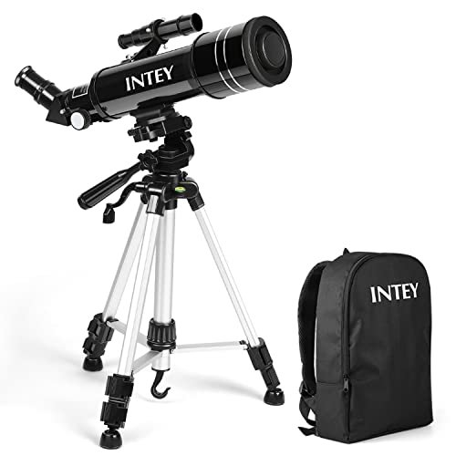 INTEY Ultra-Clear Portable Astronomy Telescope with Rucksack