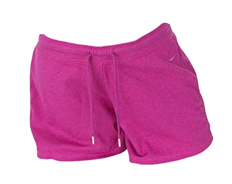 180c116d4 Image Unavailable. Image not available for. Color: Nike Womens Light Weight  Jersey Drawstring Running Shorts ...