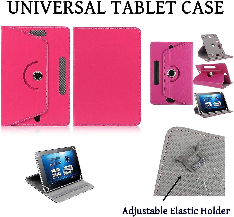 Universal 8 INCH Folio Case Cover For Alba 8 Samsung Galaxy Tab A8 Black Fire 8 Huawei MediaPad T3 M5 Lite//Toshiba//Sony//Acer Iconia One//LG Tablet Case Lenovo Tab E8