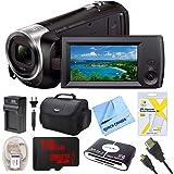 Sony HD Video Recording HDRCX405 Handycam Camcorder HDR-CX405/B Full HD 60p Bundle (16GB Bundle)