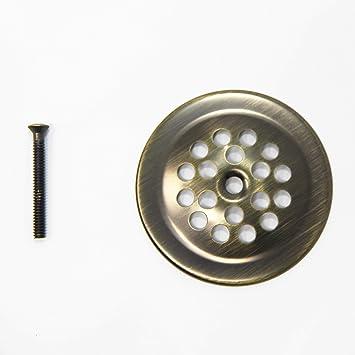 Chrome Brass Tub Closer 2-7//8 Dia