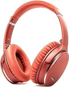 Plegable Auriculares Inalámbricos con Cancelación de Ruido Bluetooth 5.0,Srhythm NC35 ANC Over-Ear con Tipo-C Carga Rápida CVC8.0 Mic,Llamada de ...