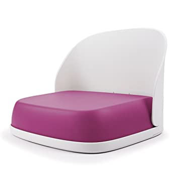 amazon com oxo tot perch foldable booster seat for big kids pink rh amazon com