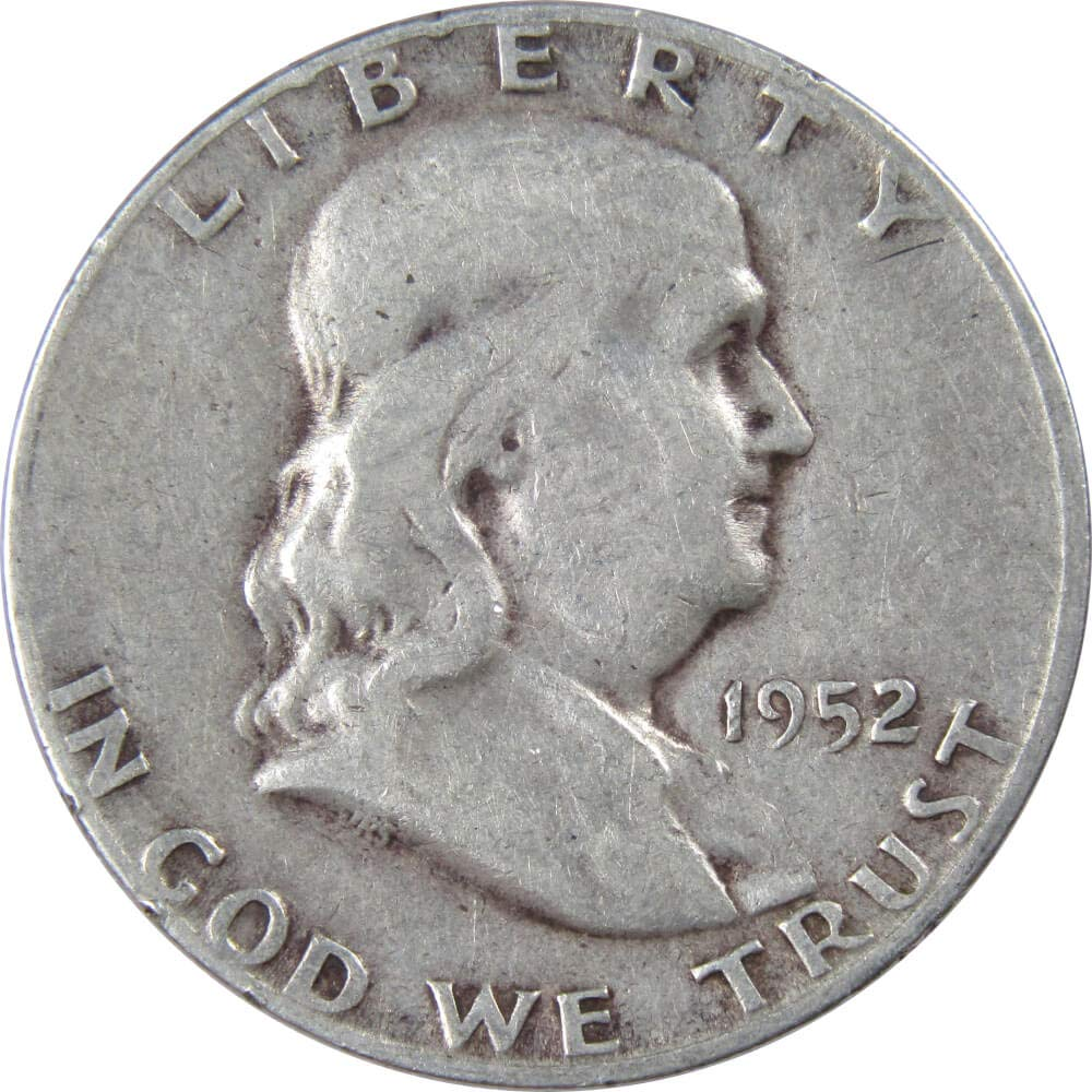 1961 BEN FRANKLIN HALF *UNCIRCULATED*  *90/% SILVER GEM PROOF*  **FREE SHIPPING**