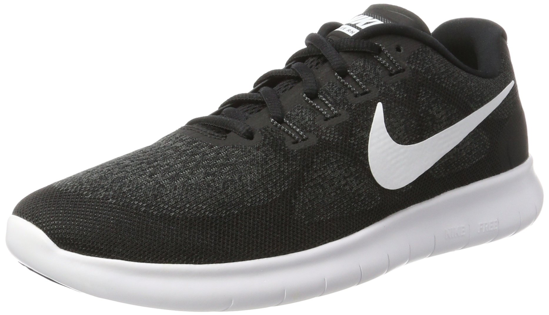 NIKE Women's FreeRN 2017 Running Shoe Black 11.5 by NIKE
