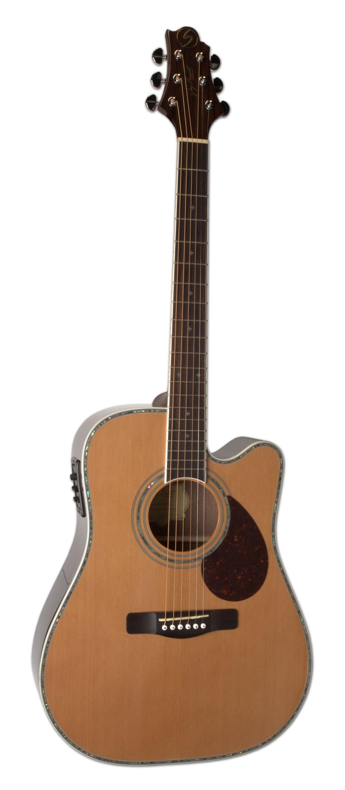 samick greg bennett design d8ce n acoustic guitar natural guitar affinity. Black Bedroom Furniture Sets. Home Design Ideas