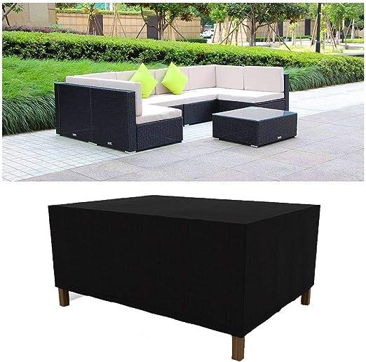 Garden Coffee Table Cover Windproofwaterproofanti Uv
