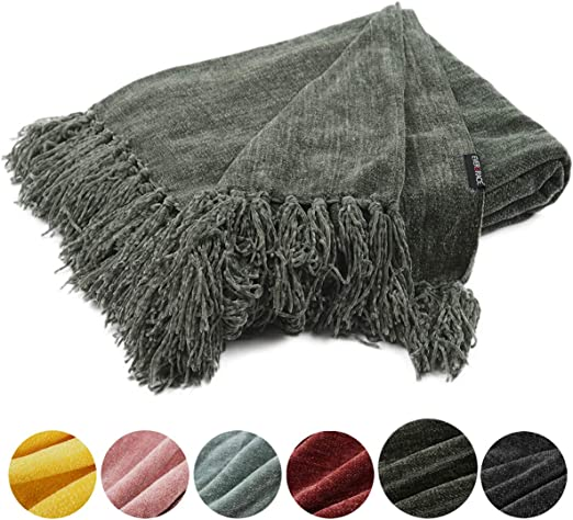 chenille throw blanket target