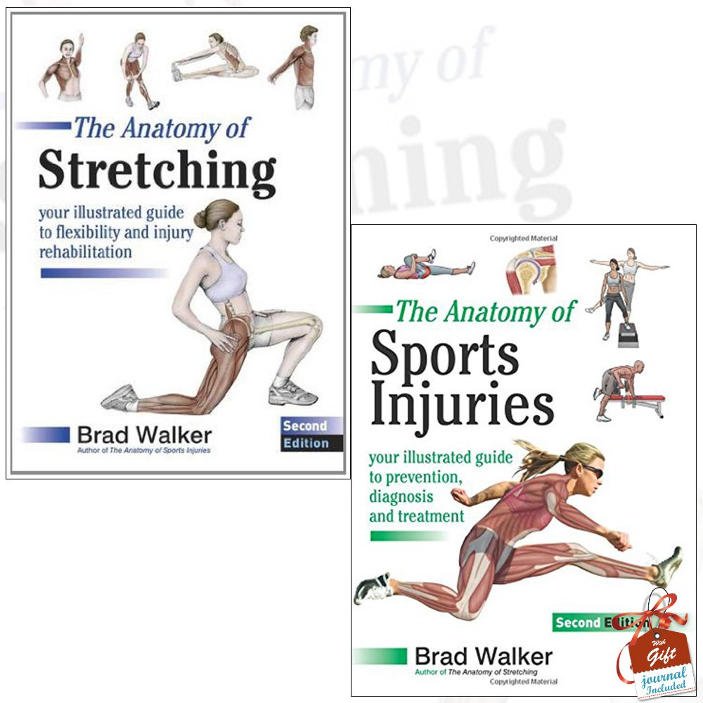 Anatomy of Stretching and The Anatomy of Sports Injuries 2 Books ...