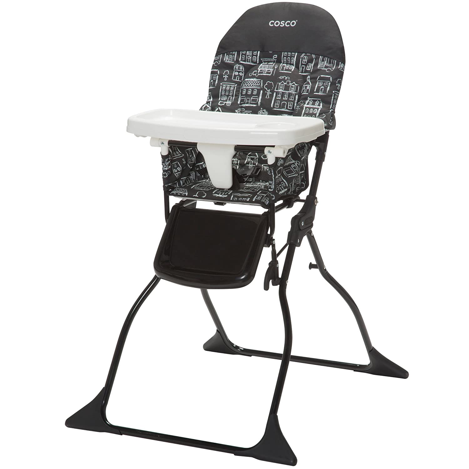 Amazon.com: Cosco Silla alta simple plegable.: Baby