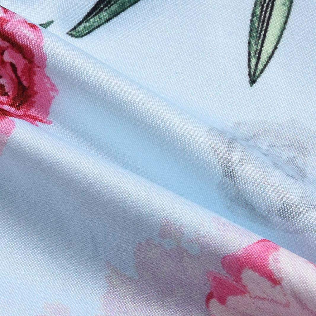 Conjuntos para Bebé Niñas Otoño Invierno PAOLIAN Monos Manga Largas + Pantalones + Diademas Estampado Floral con Bowknot Lindo Ropa para Recien Nacidos ...
