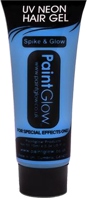 Smiffys - UV Gel para el pelo, 10 ml, color azul (46095)