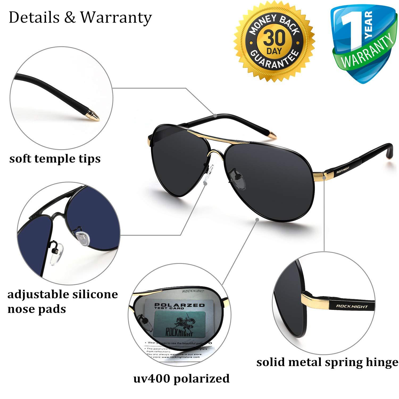 Amazon.com: Gafas de sol polarizadas Rocknight para hombre y ...