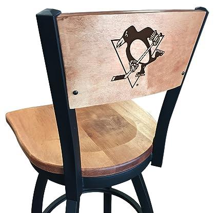 Sensational Amazon Com Pittsburgh Penguins Bar Stool Kitchen Dining Uwap Interior Chair Design Uwaporg