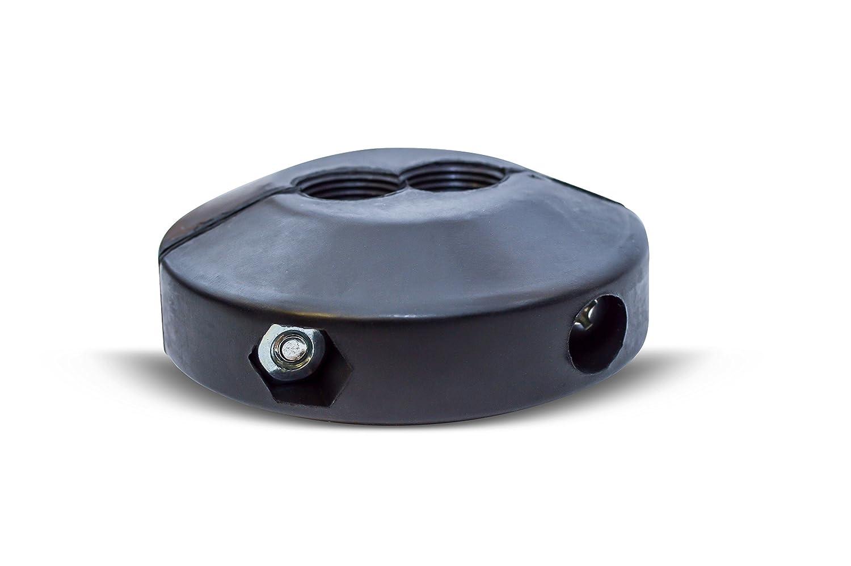 Coxreels 635 Medium Pressure Dual Hose Ball Stop for Spring Driven Reel,Black 3//8 ID x 1//2 OD Black 3//8 ID x 1//2 OD