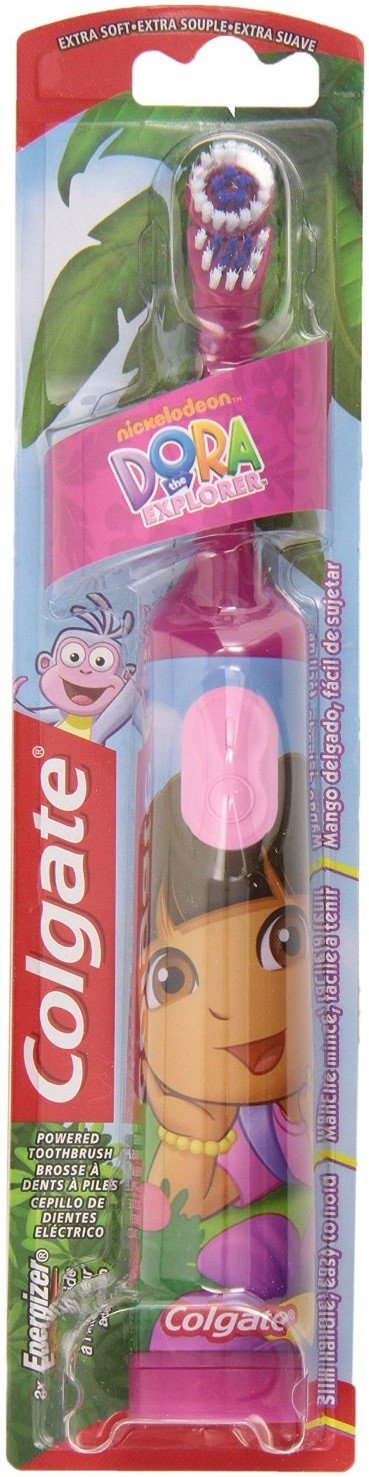 Amazon.com: Colgate Dora the Explorer Power Toothbrush, Extra Soft 1 ea (Pack of 4): Beauty