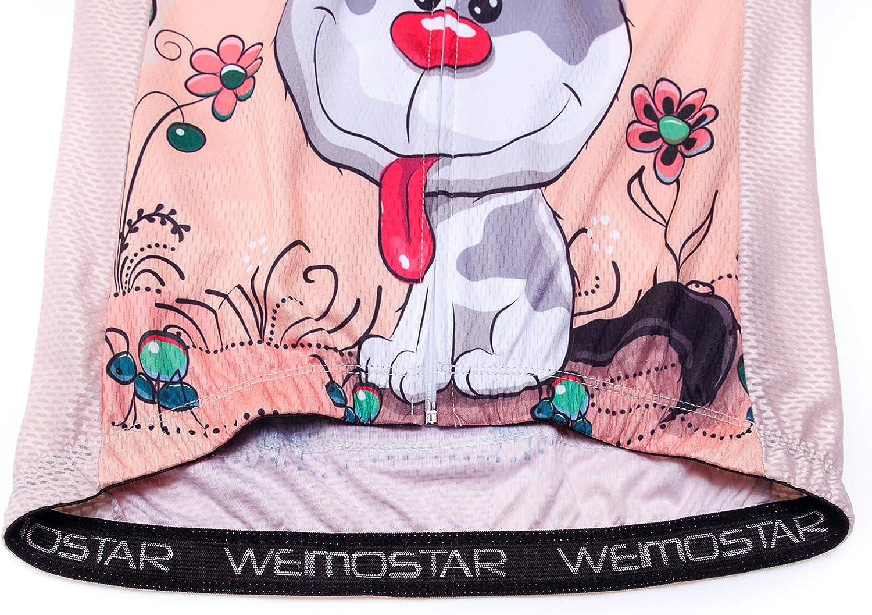 Mountainbike Trikot Damen Damen Radtrikot Biking Shirt Jacke Tops Bequem Schnell Trocknen