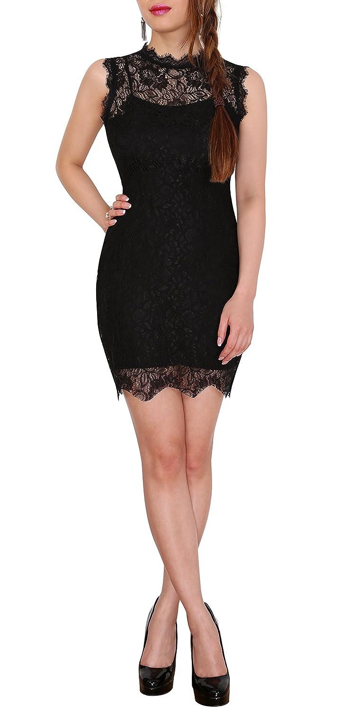SODACODA Damen Partykleid kurzes Spitzen Kleidchen: Amazon.de: Bekleidung