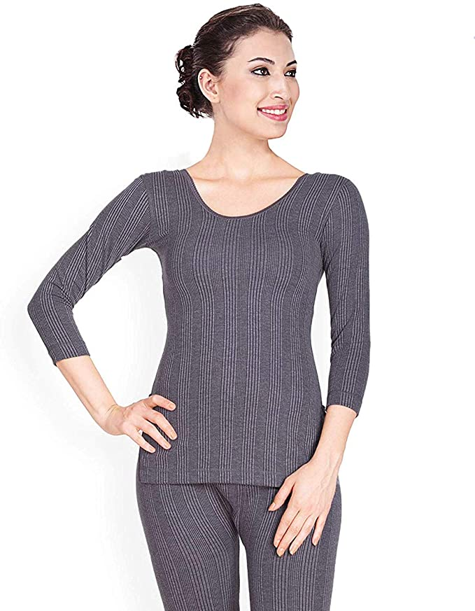 The Purple Tree Women Cotton Thermal Top Full Sleeves Tops