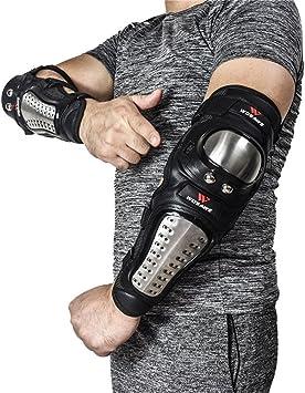 Protège-genoux Protections pour motos Protège-coudes pour armure de