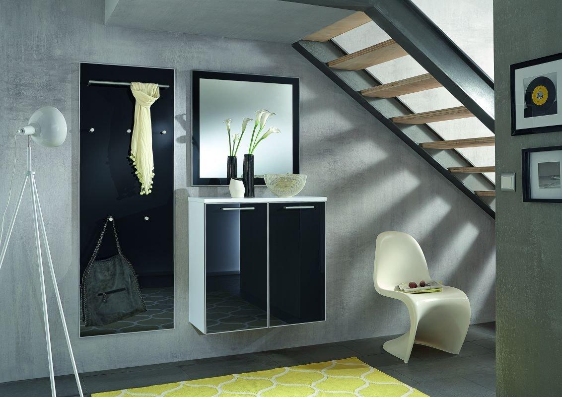 Voss-Möbel Dielenprogramm VENTINA Set 5, ca. 155cm in der Farbe Optiweiß