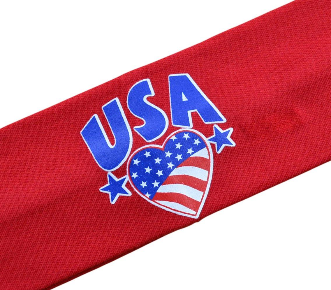 USA Pride Stretch Headband...