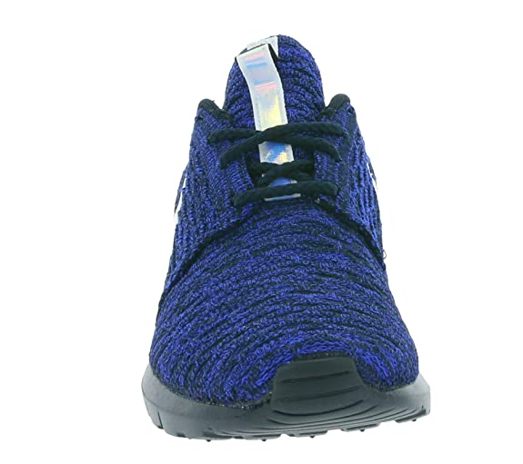big sale 9666b dbaf4 Nike WMNS Roshe NM Flyknit Women Sneaker Blue 843386 404, Size  36. 5  Buy  Online at Low Prices in India - Amazon.in