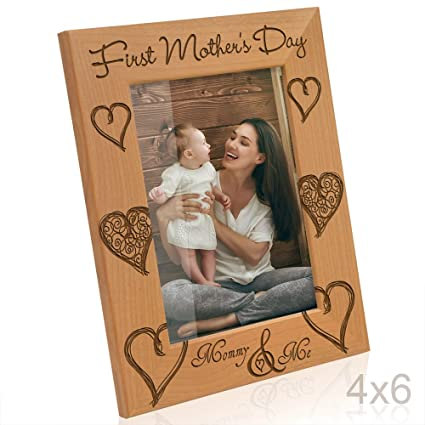 Amazon.com - Kate Posh - First Mother\'s Day with Mommy & Me Picture ...
