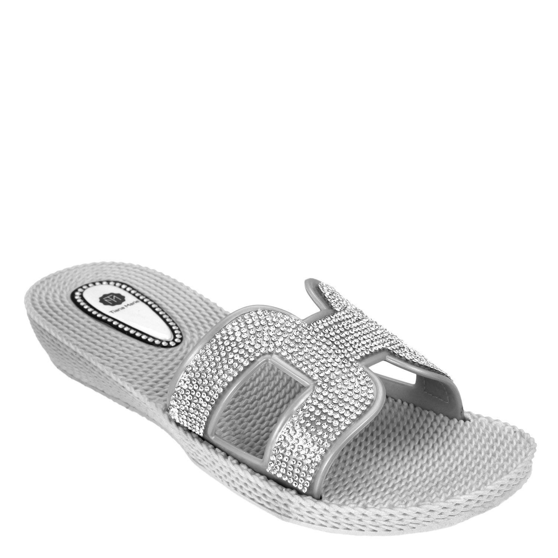 394294b09 Hella Rubber Wedge Sandal - Womens Summer Sandals - Beach Sandals (5 ...