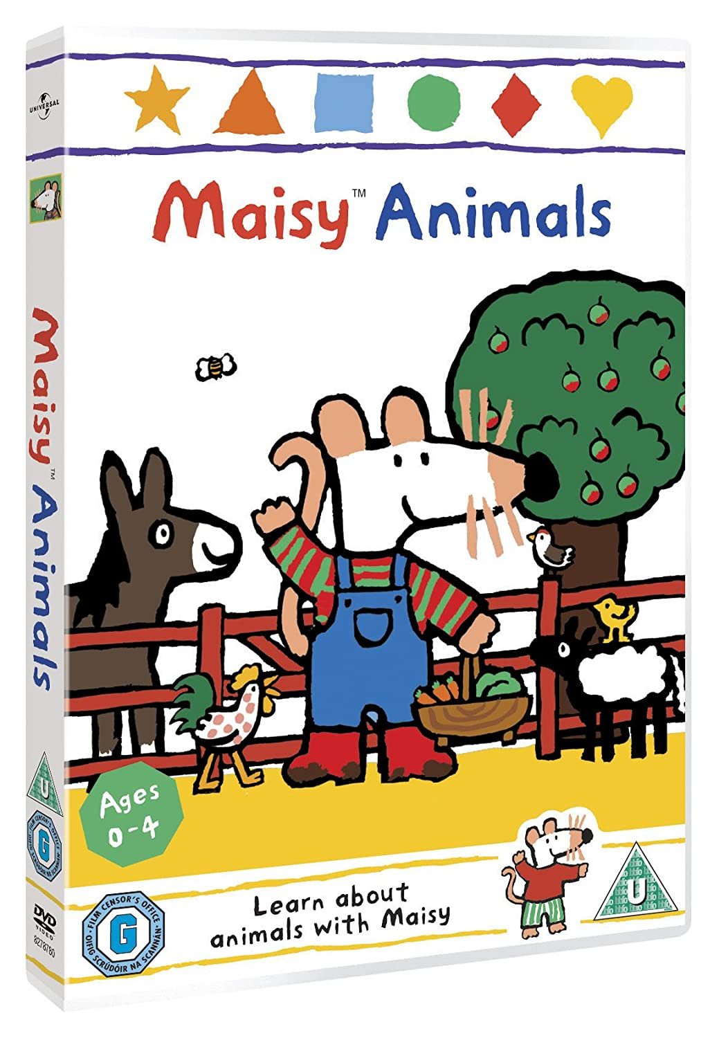 maisy animals dvd amazon co uk neil morrissey dvd u0026 blu ray