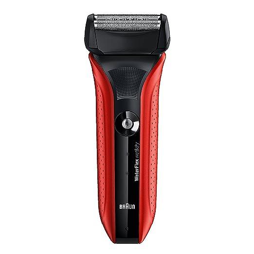 407 opinioni per Braun Waterflex WF2Swet&Dry Rasoio Elettrico a Lamina, Rosso