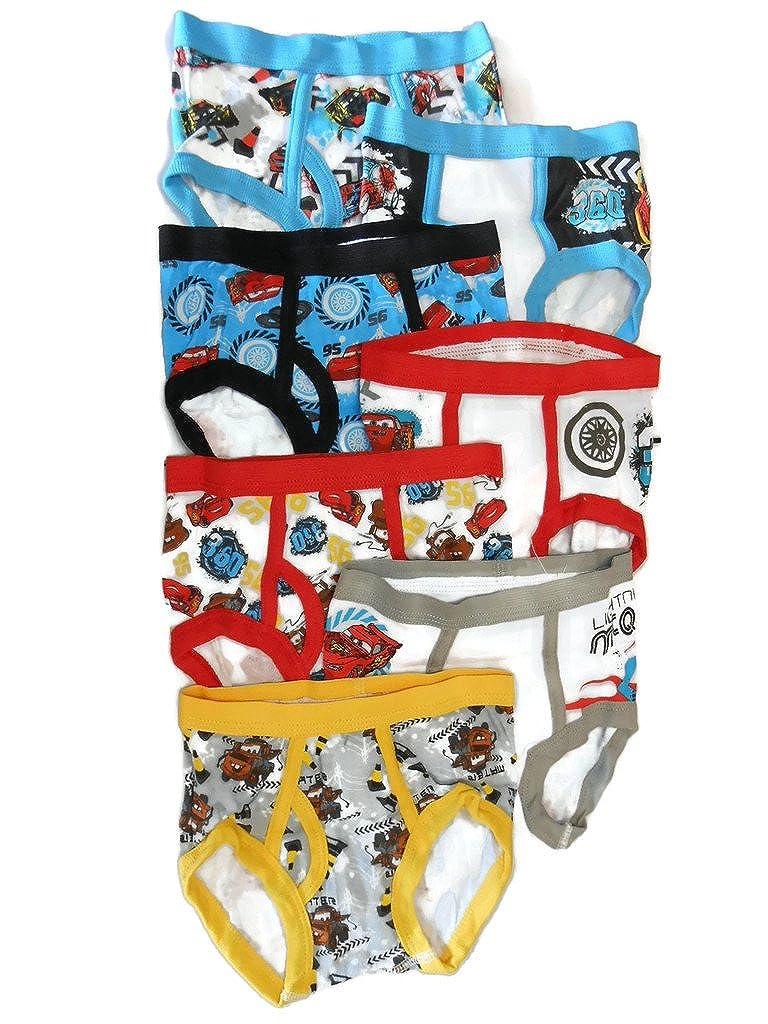 Disney Handcraft Little Boys Cars 7 Pack Brief