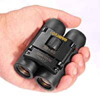 DFlamepower mini 30x60 Compact Folding Binoculars Telescope with Waterpoof for kids/adults/outdoor birding/travelling/sightseeing/hunting/birdwatching