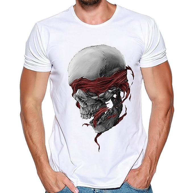 4fab64db59270 Hombres Que Imprimen la Blusa de la Camiseta de Manga Corta de la Camisa de  Las Camisetas de Internet  Amazon.es  Ropa y accesorios