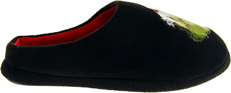 NOVELTY FLEECE LINED MULE SLIPPERS