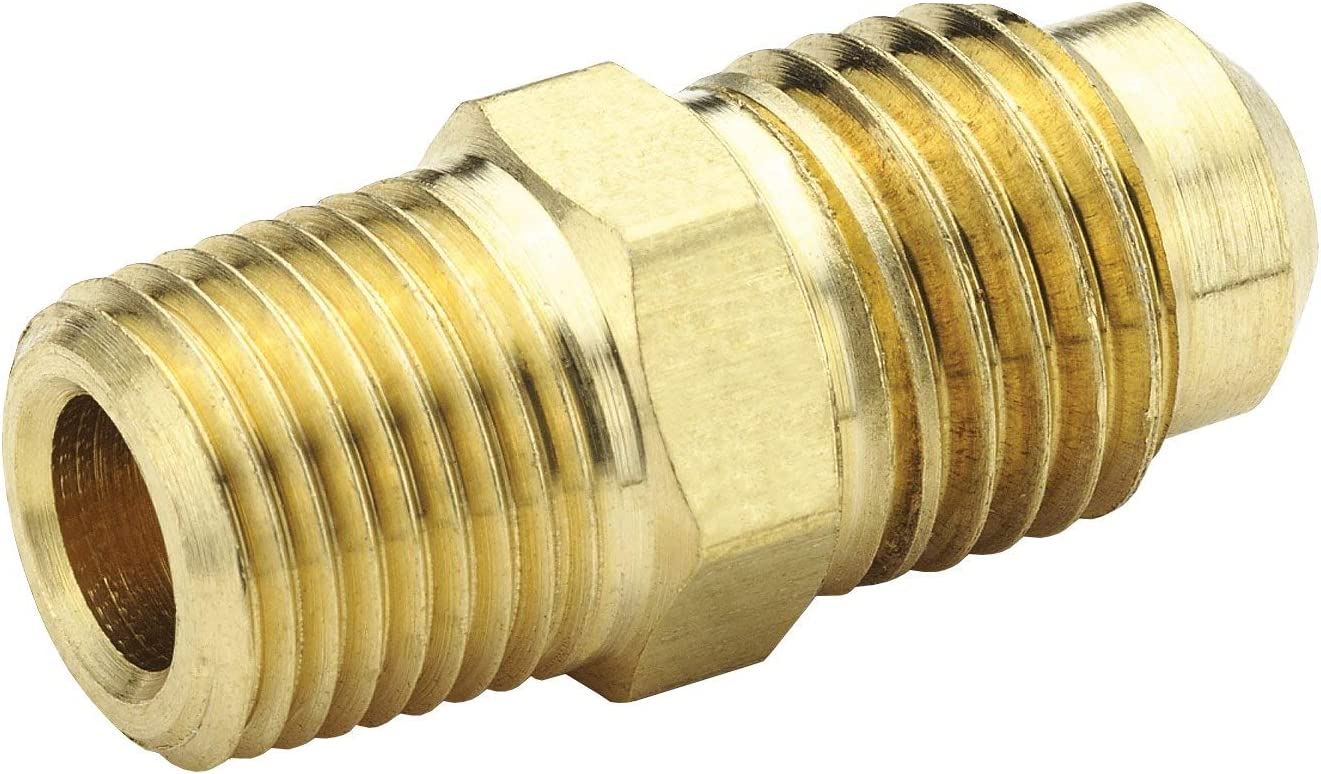 Dixon Brass SAE 45 Flare Male Connector 48F-6-4