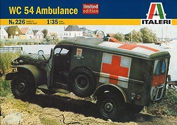 0226s Ambulance Dodge De Limited 54 Edition Maqueta Wc Italeri RAjL45