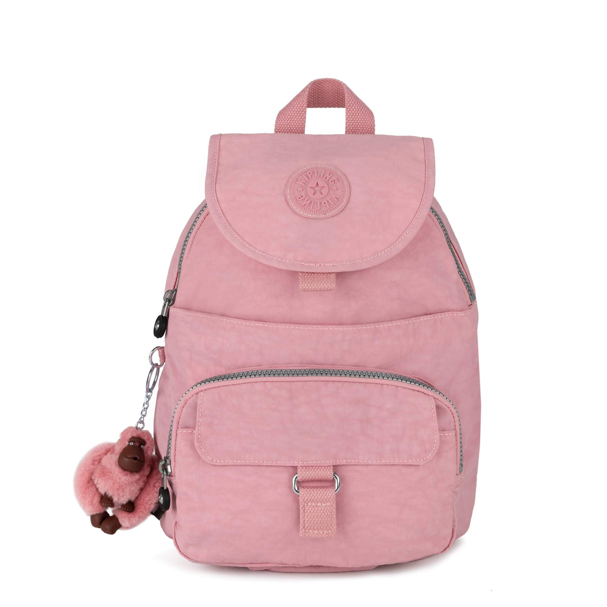 Kipling Queenie Small Backpack One Size Strawberry Pink