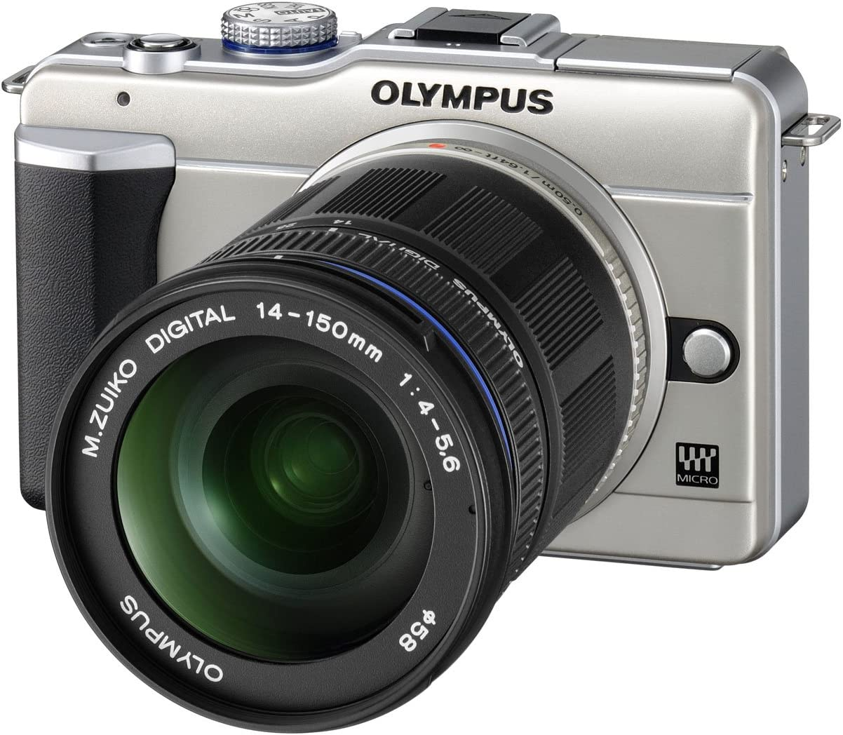 Olympus E-PL1 14-150 Kit - Cámara Digital (12,3 MP, SLR Camera Kit ...