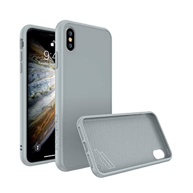 buy online 69224 1c485 RhinoShield Case FOR iPhone XS [SolidSuit] by Shock Absorbent Slim Design  Protective Cover with Premium Matte Finish [3.5M / 11ft Drop Protection] -  ...