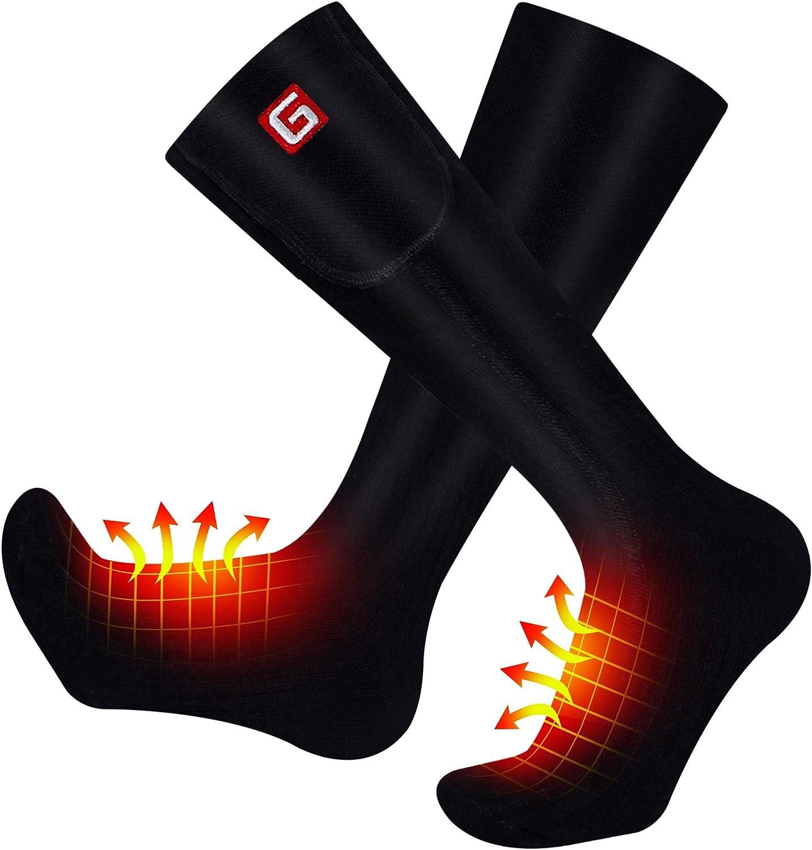 Rechargeable Battery Heated Socks Electric Heated Socks Hiking Warming Socks