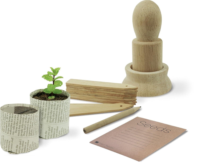 Perfect Paper Pot Maker U0026 Accessories Gift Set   Great Gardeners Gift:  Amazon.co.uk: Garden U0026 Outdoors