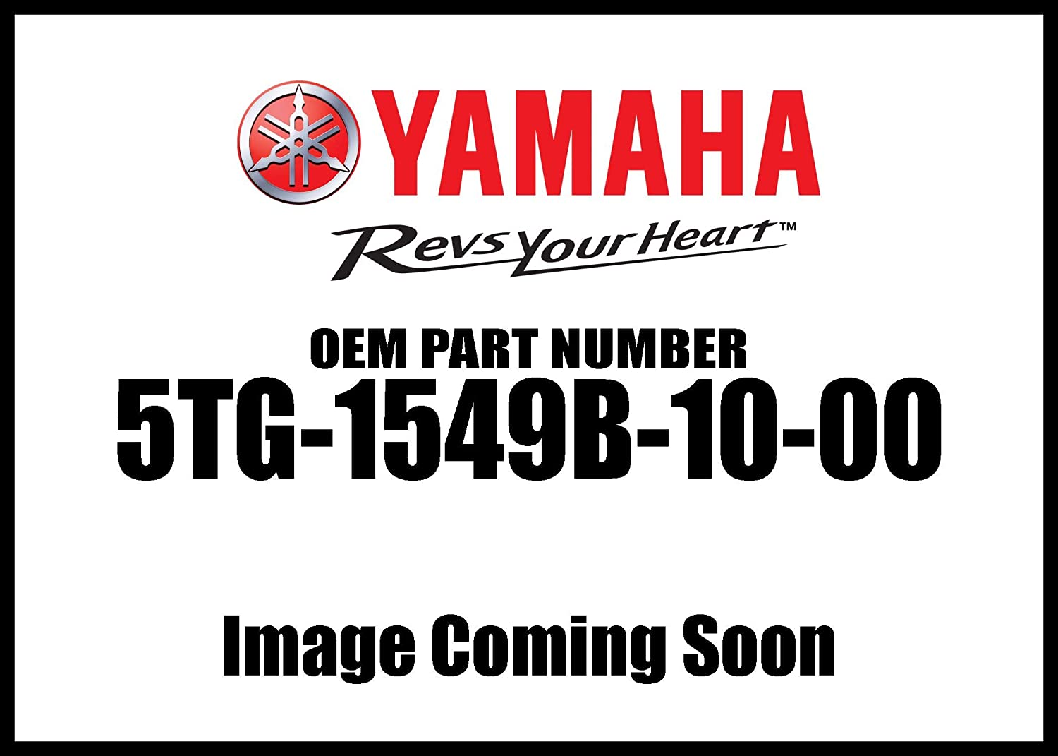 Yamaha 5TG-1549B-10-00 Cover Assembly 2; 5TG1549B1000 Made by Yamaha
