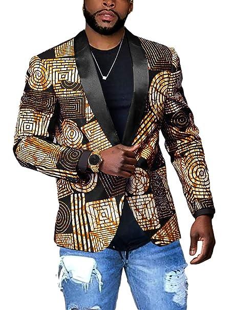 Amazon.com: Traje de fiesta para hombre, chaqueta con un ...