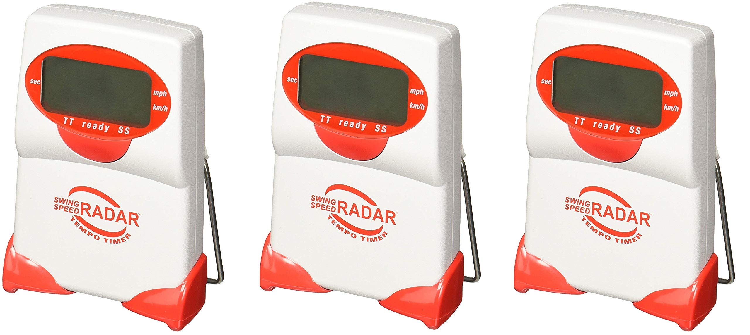 Sports Sensors Swing Speed Radar with Tempo Timer (Pack of 3) by Sports Sensors, Inc
