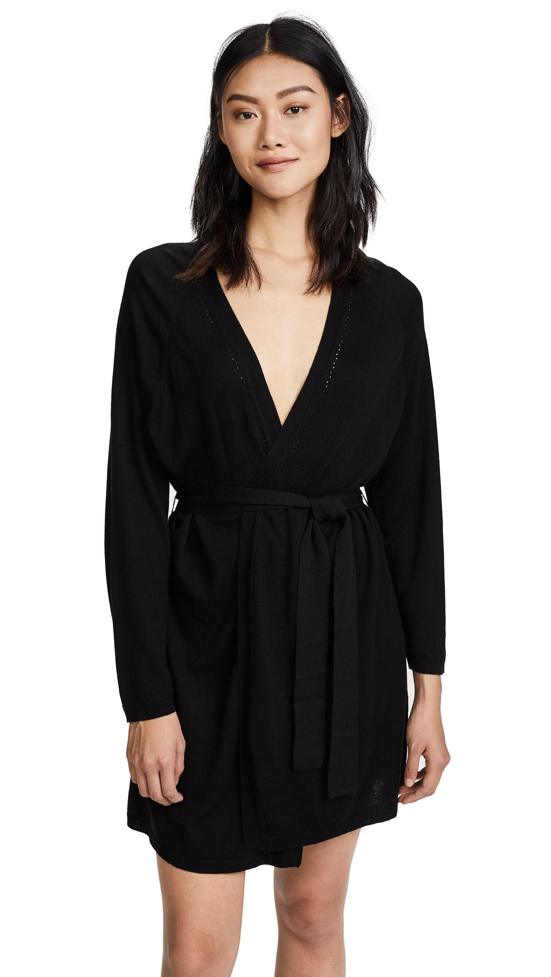 Skin Women's Mina Robe, Black, 3