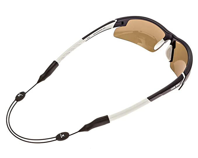 Luxe Performance Cable Strap - Premium Adjustable No Tail Sunglass Strap and Eyewear Retainer for Your Sunglasses, Eyeglasses, or Prescription Glasses ...